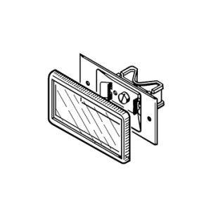 Capac plastic ADK 41 șină 41/21