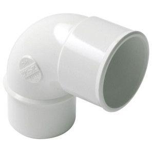Cot alb PVC 90° TM NICOLL CF8B / CH8B
