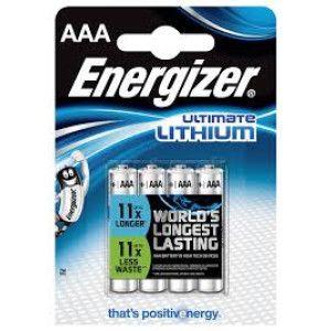 Baterie litiu ENERGIZER LR03 / AAA
