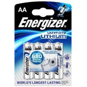 Baterie litiu ENERGIZER LR6 / AA