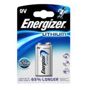 Baterie litiu ENERGIZER 6LR61 / 9V