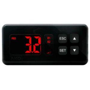 Termostat încastrabil cu 5 relee pentru centrale frigorifice AKO-14545