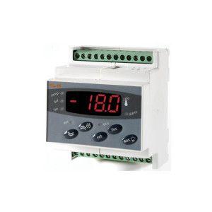 Termostat electronic cu şină DIN 2 - 4 relee DR 983 PTC