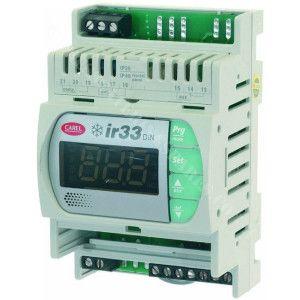 Termostat electronic cu șină DIN 1 și 4 relee CAREL DN33F0EL00