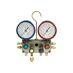 Baterii manometre cu 2 și 4 căi REFCO BM2-3-AUTO-SET-DS-RC-R1234yf
