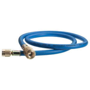 Furtun flexibil cu clapetă CPV REFCO 1/4 1.5m Albastru