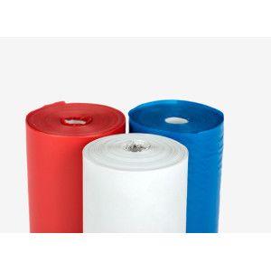 Bandă non-adezivă din PVC vinilica albă